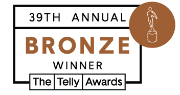 Curious Mondo 39th Annual Telly Award Winner - Bronze