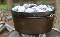 Dutch Oven Cooking and Roughing it Easy