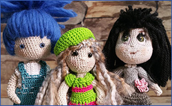 How to Make Crochet Amigurumi Dolls