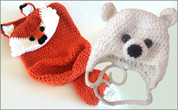 How to Crochet Adorable Baby Hats