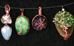 Professional Level Wire Wrapped Jewelry