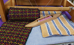 Weaving a Scarf on a 4-Shaft Loom