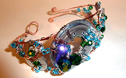 Bangle Bracelet Wire Weaving