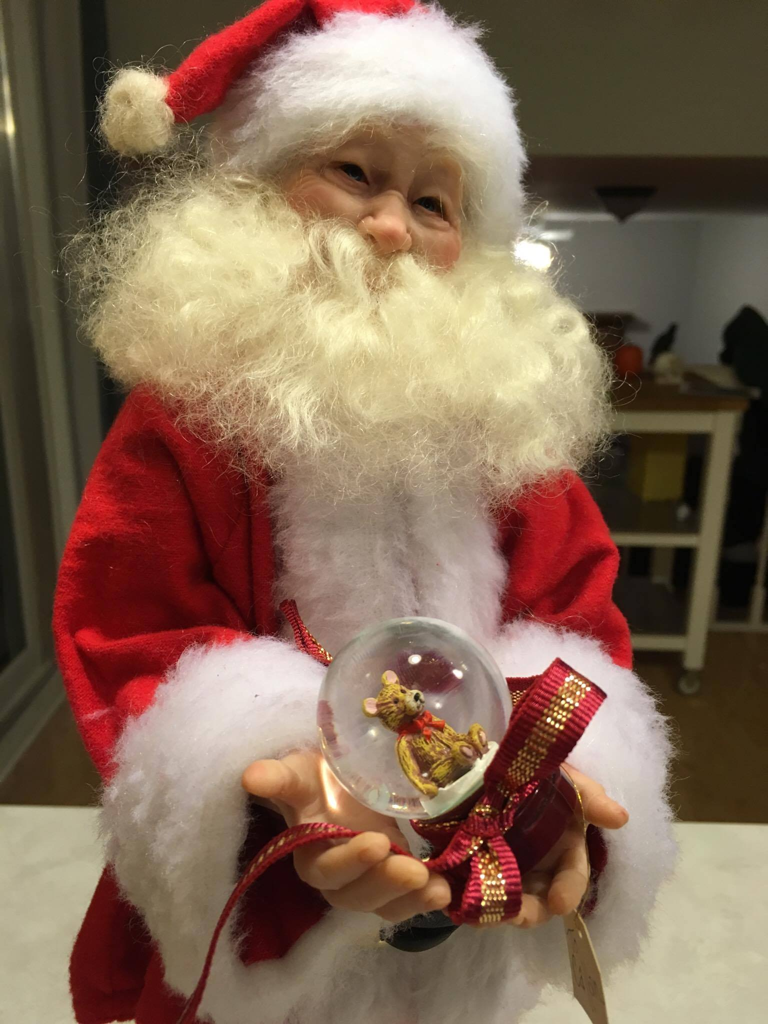 Sculpting Santas with Polymer Clay