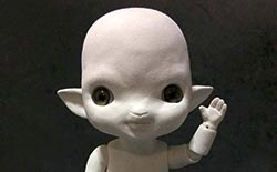 Making a Ball Jointed Doll Character