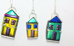 Fused Glass and Silver Fusion