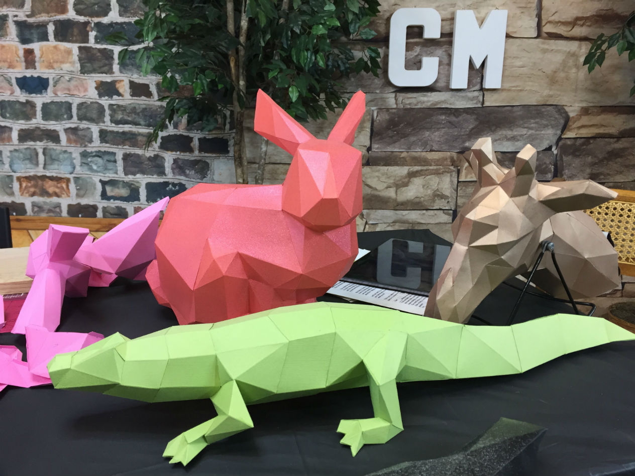 How to Make 3D Paper Models Course