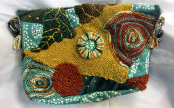 Mixed Media Fiber Arts Purses