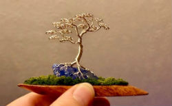 The Art of Wire Tree Making