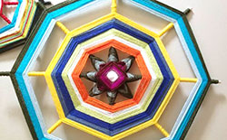 How to Create Yarn Mandalas
