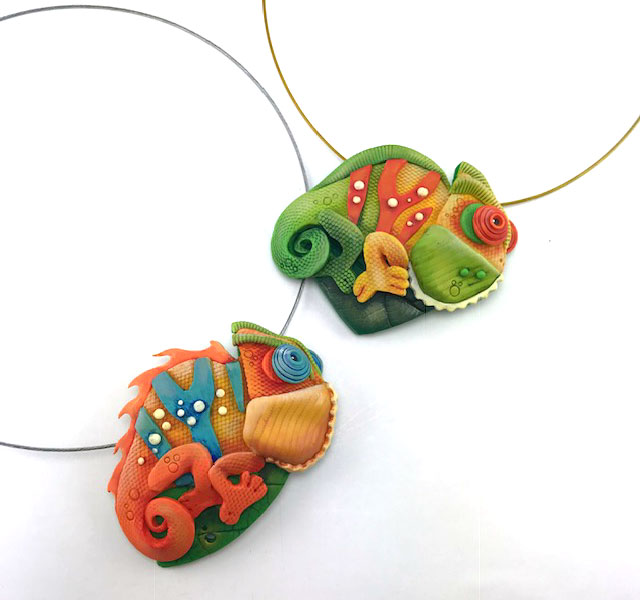 Hanging by a Wire! Animal Pendants in Polymer Clay