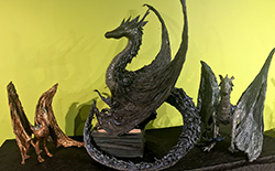 How to Make a Textile Dragon Garden Sculpture