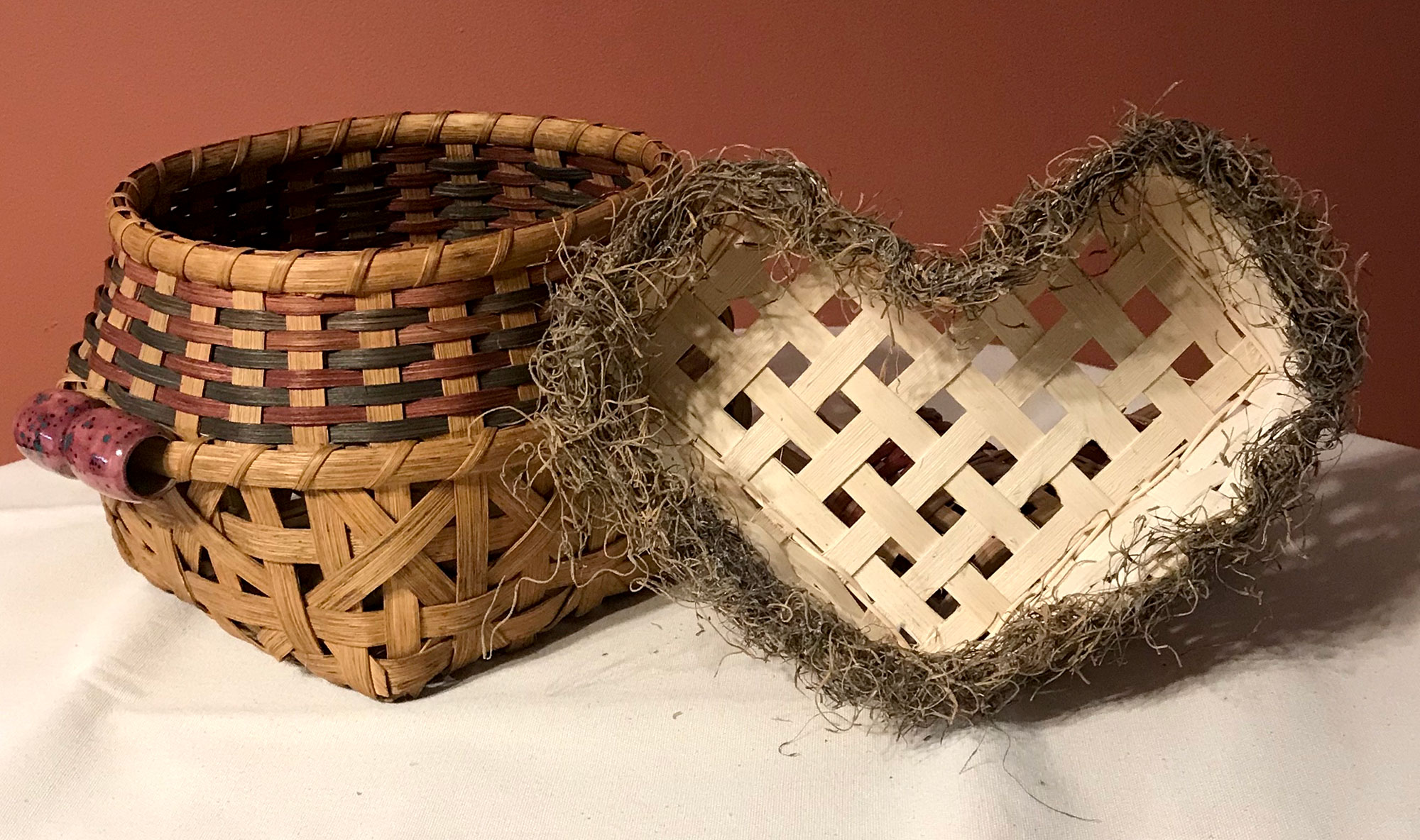How to Create Intricate Baskets with Ceramic Handles with Cheryl Dixon