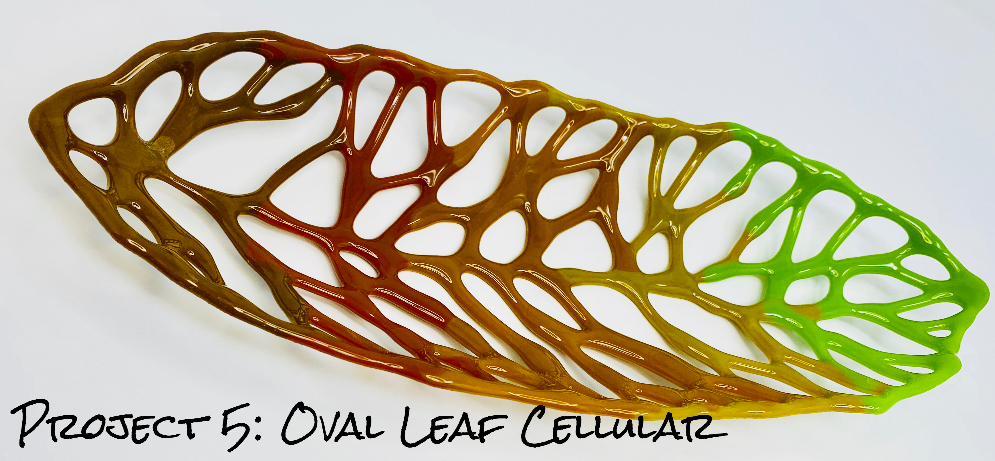 How to Make Cellular Art Glass Structures