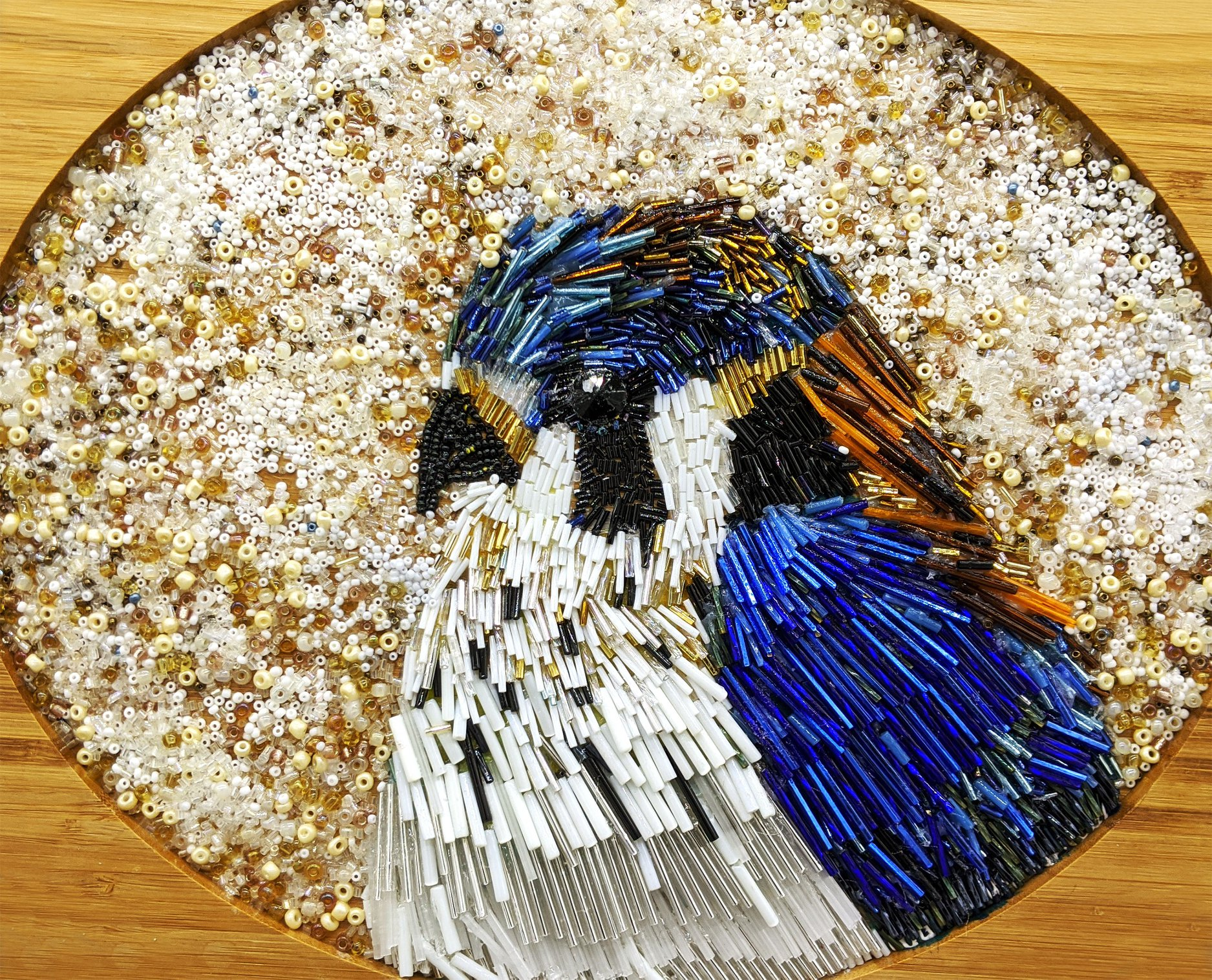 How to Create Glass Bead Mosaics - Bead Painting