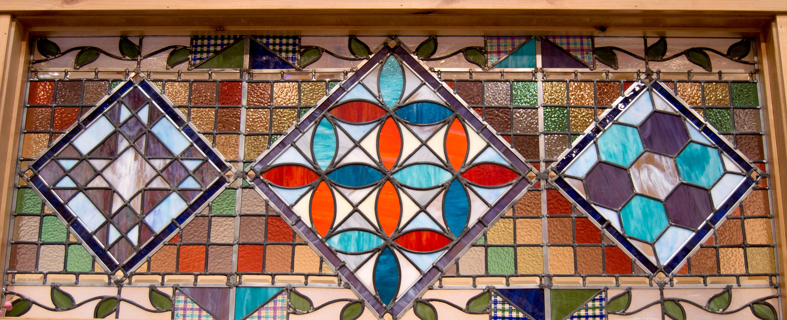 Intro to Leaded Glass (Stained Glass) LIVE with Cheryl Peterson