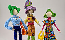 Fast Track Course: Posable Pipe Cleaner Girls