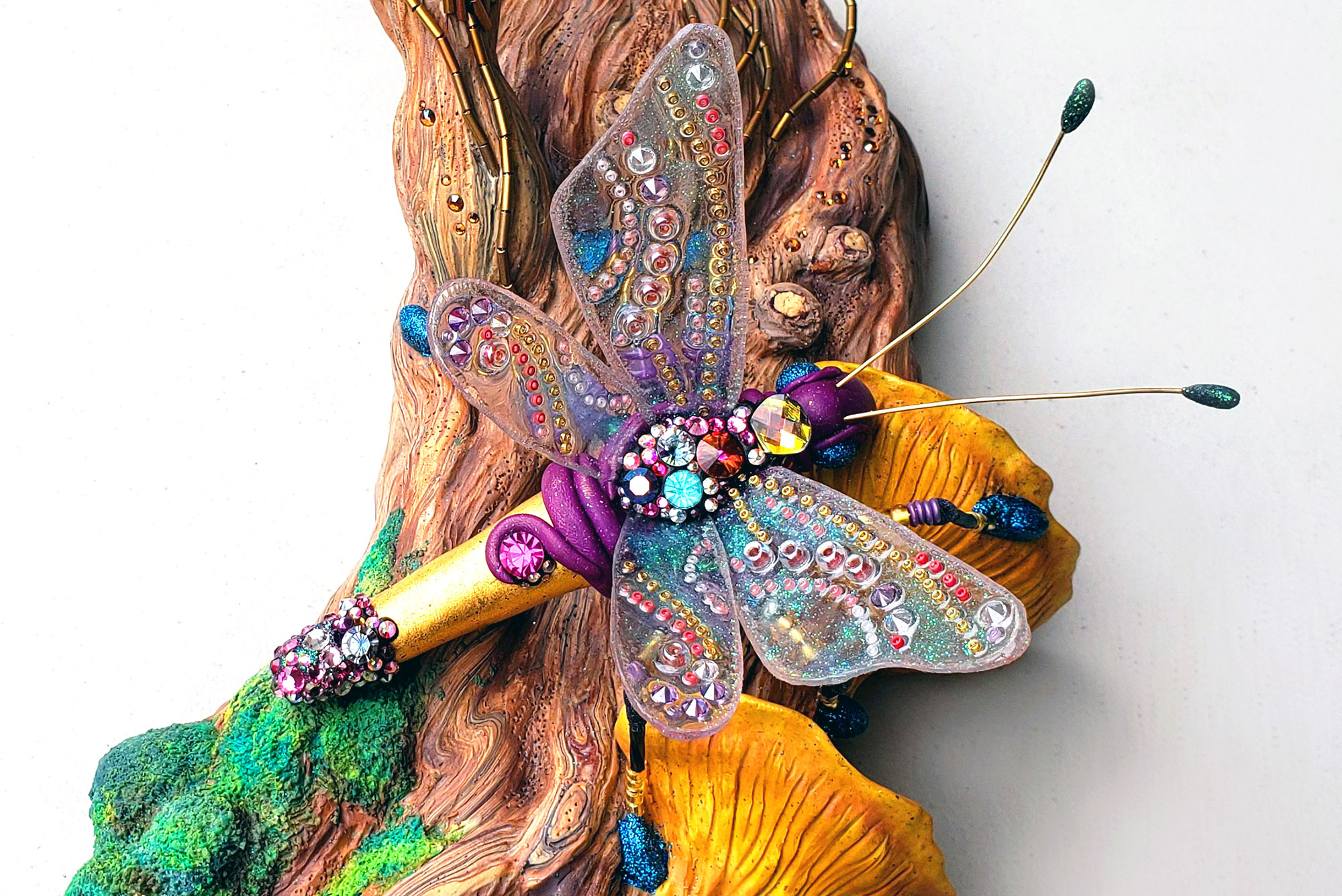 Sculpting a Mixed-Media Insect