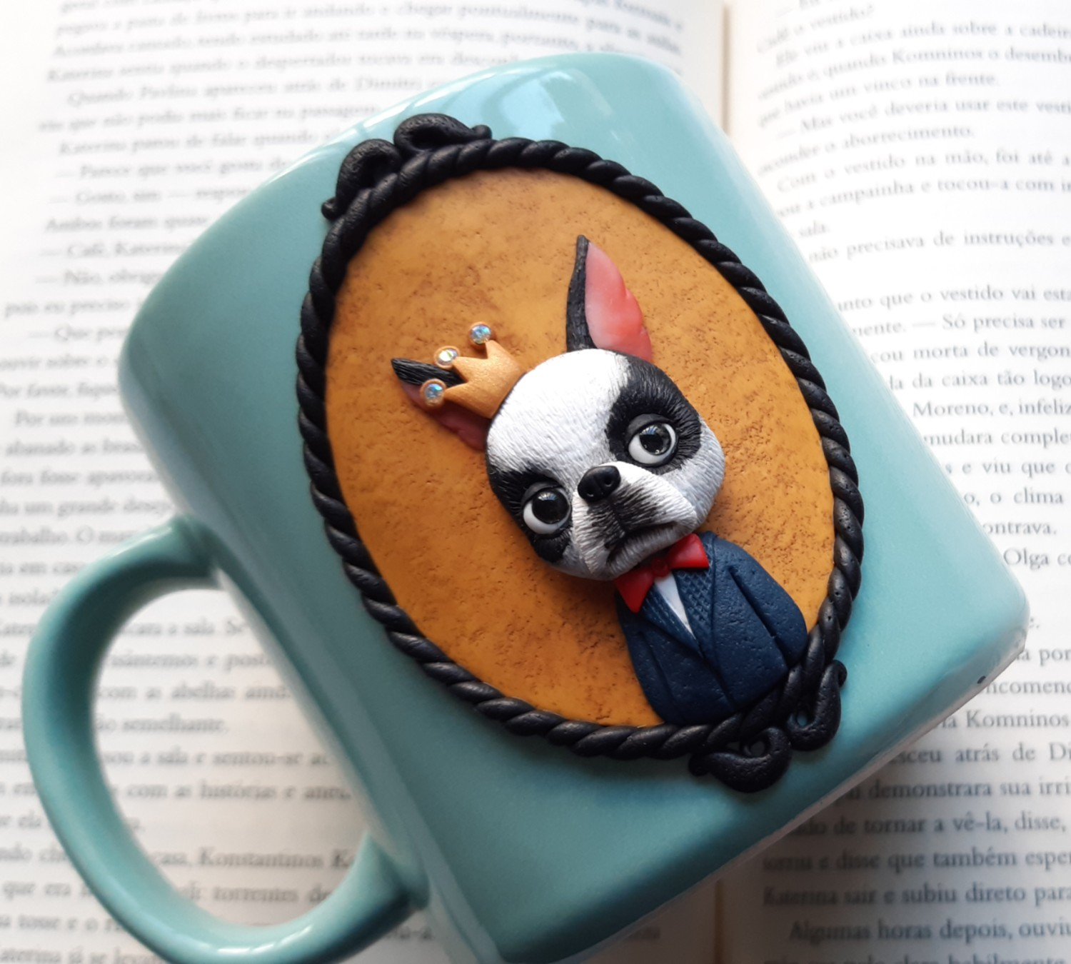 How to Decorate Mugs in Polymer Clay with Kaline Silva