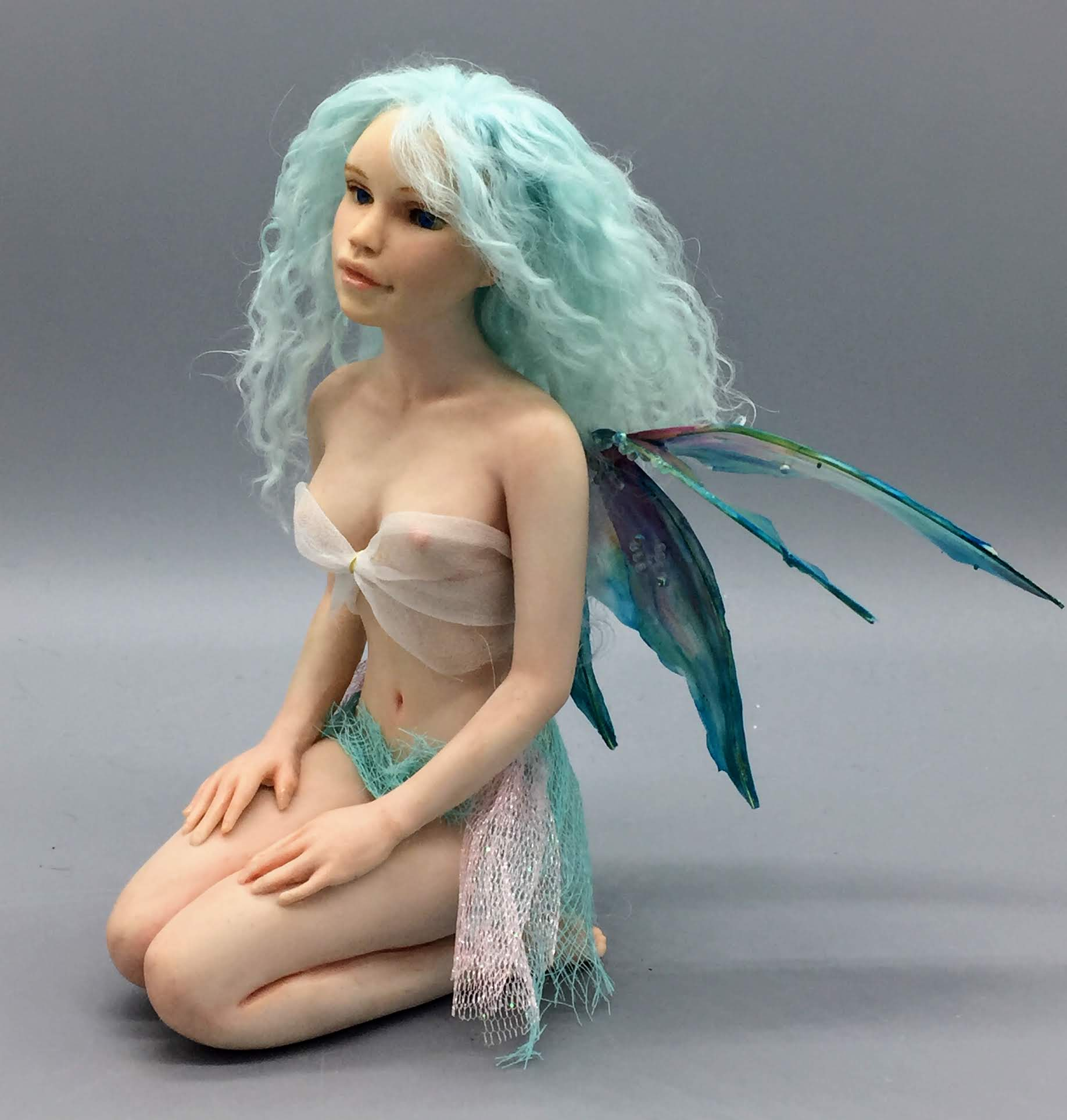 How to Sculpt a Kneeling Fairy