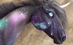 Making a Mixed-Media Fantasy Horse