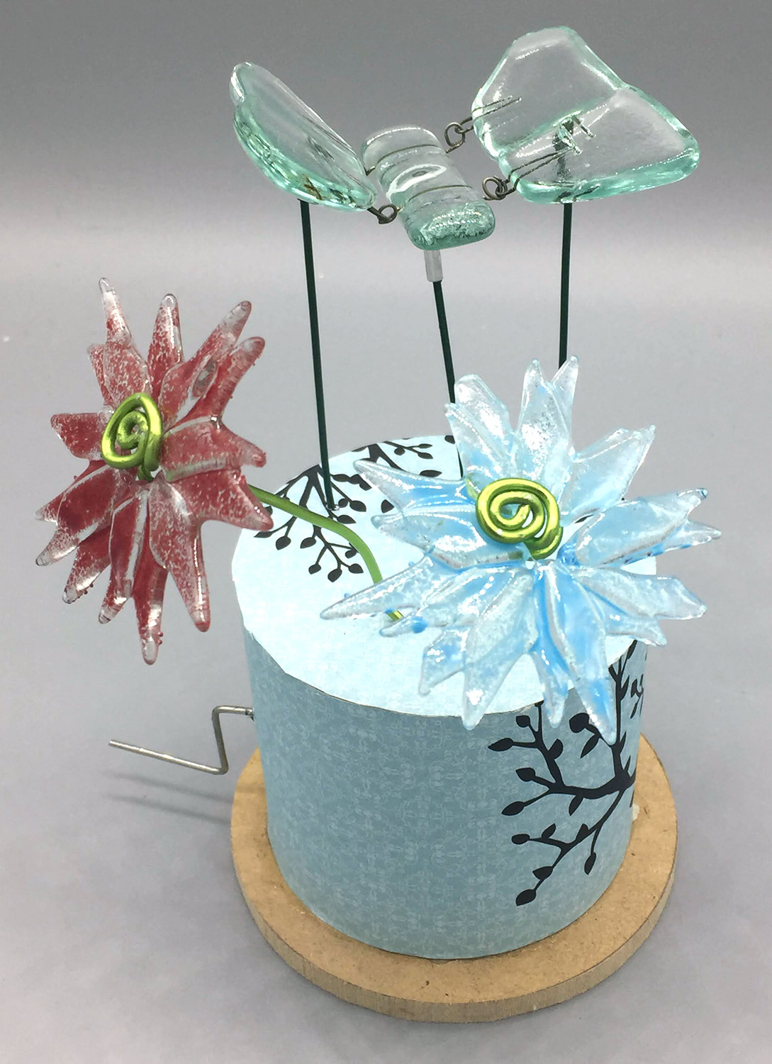 How to Make Glass Kinetic Butterflies LIVE with Jodi McRaney-Rusho