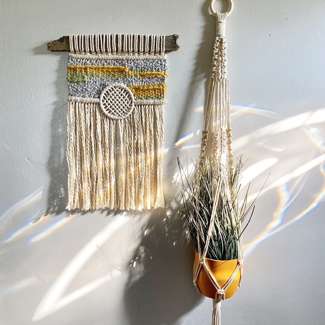 The Basics of Macrame and Macra-Weave Wall Hanging Decor!