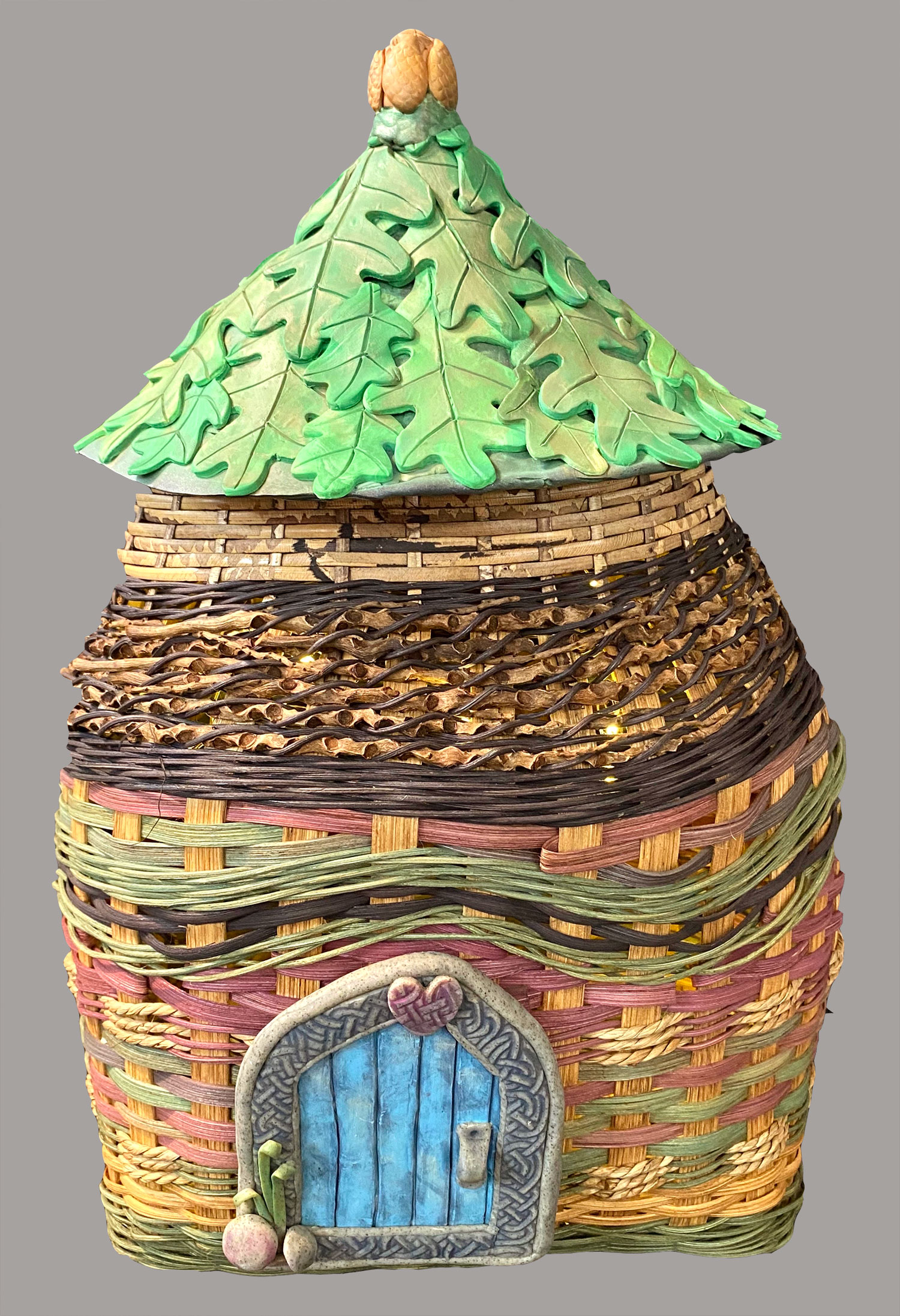 How to Weave a Fairy House/Gnome Home Condo