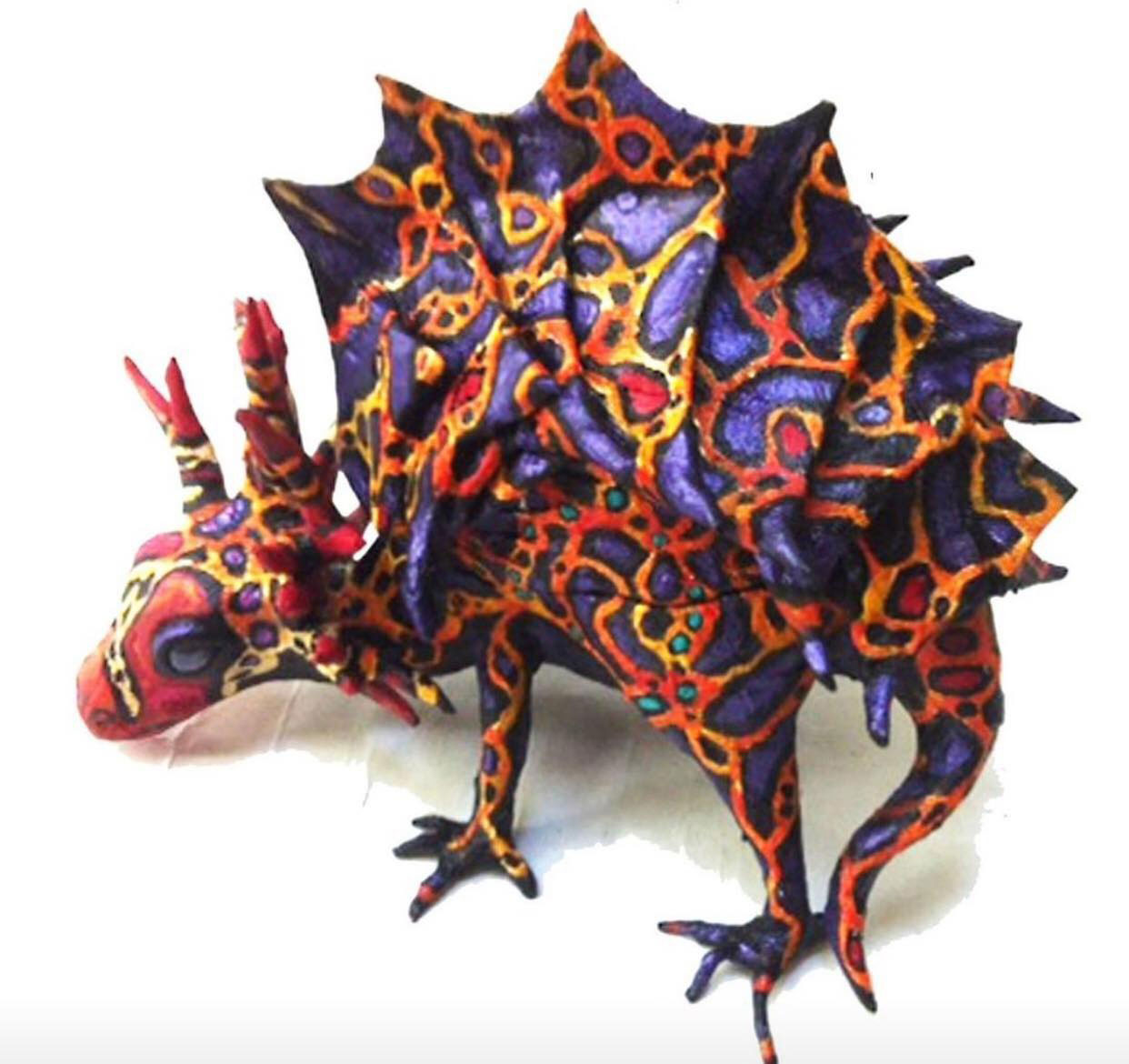 How to Make a Paper Maché Stegosaurus Box! LIVE w/ Tom Chen