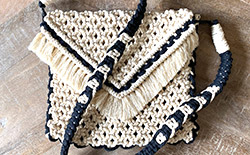 Hippie-Boho Macramé Satchel Bag Course for Beginners and Intermediate Levels