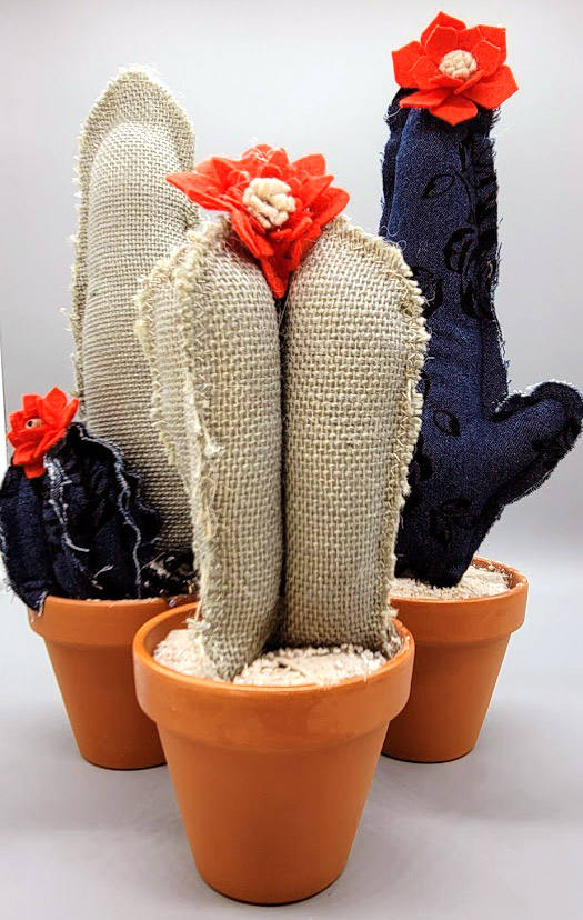 How to Make Textile Cacti!