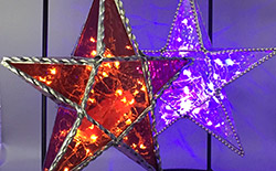 Stained Glass Star Lantern