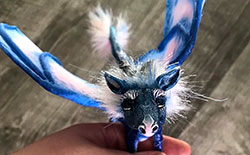 How to Make a Posable Art Doll Dragon