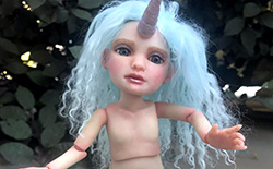 How to Sculpt a Unicorn Girl Ball-Jointed Doll