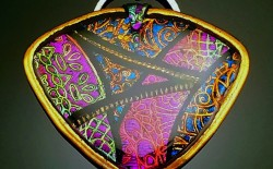 Fast Track Course: Faux Dichroic Mosaics on Resin